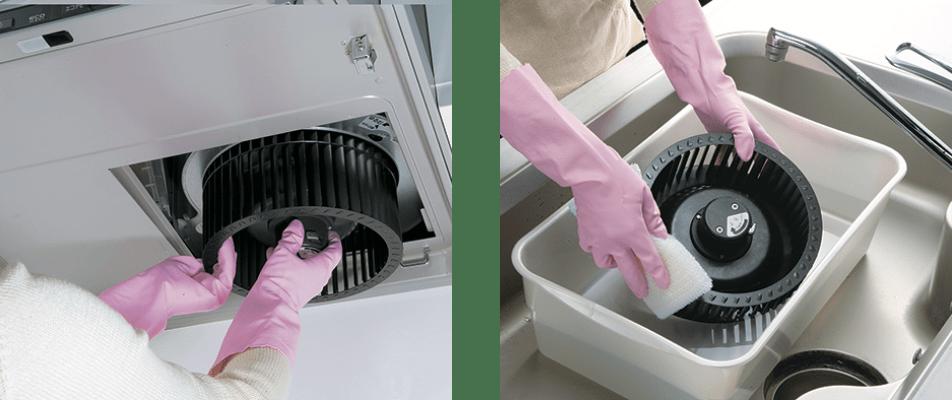 Có thể tháo rời bằng một lần chạm và giặt sạch dễ dàng