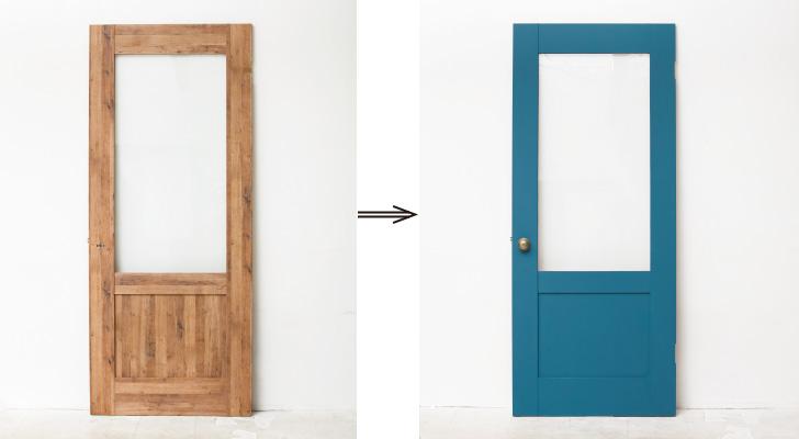 好きな色に塗れるドアもご用意