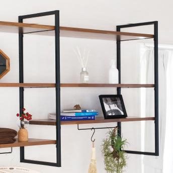 棚板の高さを調整できます