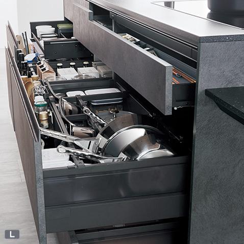 キッチンを使いやすくする収納はコレ!家事をスムーズにする収納特集!!
