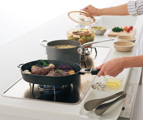 グリルパン調理モード以外の調理例です。