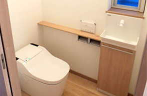トイレのリフォーム | リフォー...