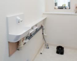 手洗い・カウンター設置