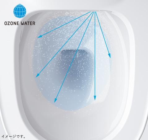 オゾンウォーターを散布