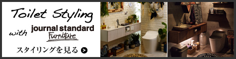 Toilet Styling with journal standard Furniture