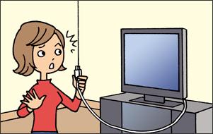 家電を新しく買ったけれど、コンセントは??